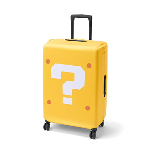 NSW SUPER MARIO TRAVEL PATTERN QUESTION MARK BLOCK SUITCASE COVER (JAPAN)