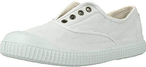 Zapatillas Victoria 06627 - Inglesa Lona Teñida Puntera hombre, color blanco, talla 42