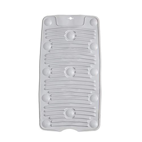 HathaWQ Silikon Wäscherei Vorstand Bedürftige Faltbarer Waschbrett Vakuum Saugnapf