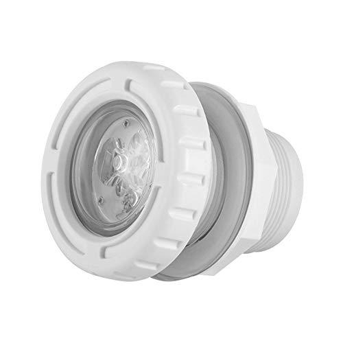 DLGGO Unterwasser-Teich-Dekor-Spotlight/Wandleuchten, Tresor AC 12V Wasserdicht Nachtlicht ändern Außeneinbauleuchte LED-Flutlicht for Landschaftsgarten Rasen Pool Marine Boat Yacht (Größe : Blau)