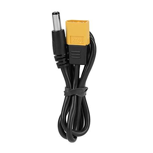 Cable de alimentación DC5525 Cable adaptador de conector de bala macho a DC 5,5 x 2,5 mm para el hogar y la industria para conexión eléctrica