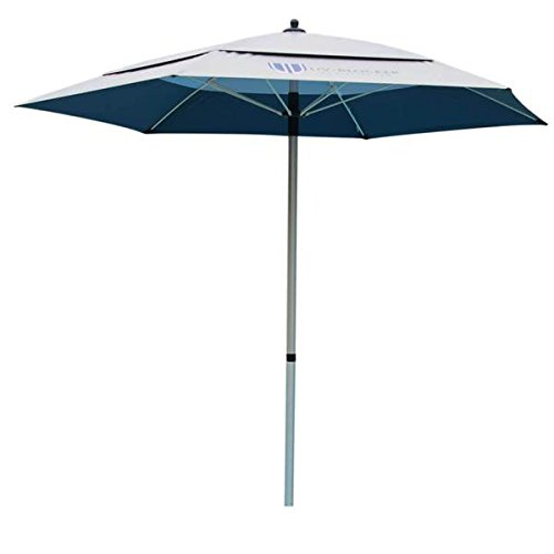 UV-Blocker Large Beach Umbrella with (55+ UPF) UV Protection