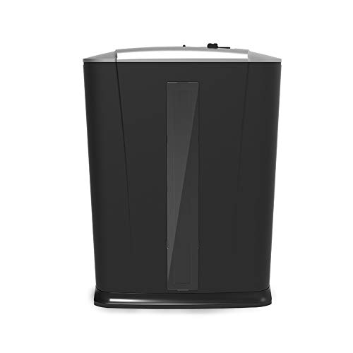 Big Save! LEFJDNGB Mini Small Confidential Document Paper Shredder with 13L Pullout Waste Basket Shr...