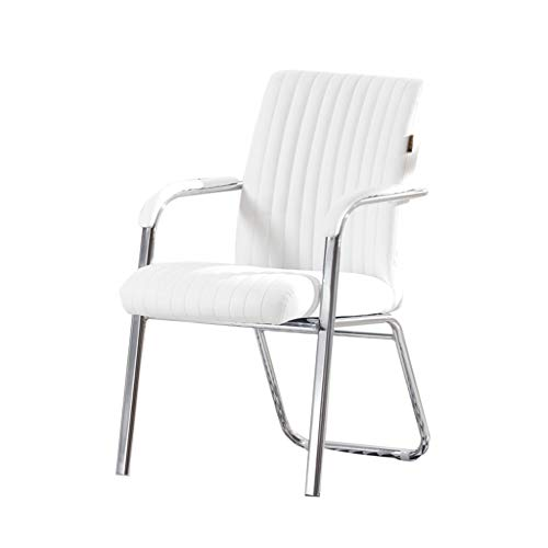 Schilderen ontwerp Conference Chair, effen kleur comfortabele zachte PU Leerleunstoel Luxe Computer Office Chair Ergonomie Household Chair Office essentieel (Color : #3)