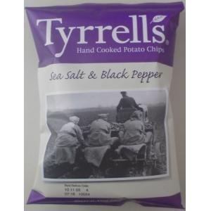 ティレルポテトチップス ブラックペッパー 48袋セット