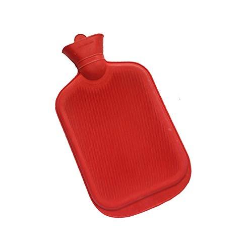 Hot Water Bottle Hot Water Bottle Rubber High Density Winter Hand Warmer Portable Thick Hot Water Bottle Girls Pocket Feet Hot Water Bag (Color : 2000ml)