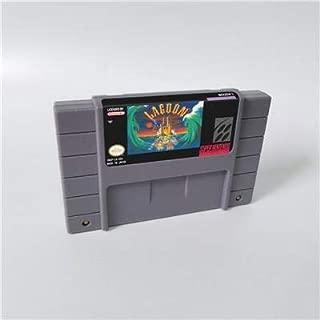 Game card Lagoon - RPG Game Card US Version English Language Battery Save Game Cartridge SNES , Game Cartridge 16 Bit SNES