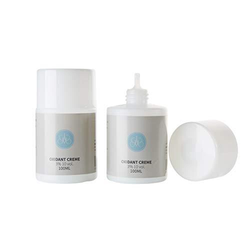 Augenmanufaktur Oxidant 3% Creme – Beauty Creme-Entwickler für Augenmanufaktur Augenbrauen und Wimpernfarben permanent 100ml Lotion 150 Anwendungen