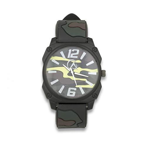 Reloj analogico Camo para Caza, Pesca, Camping, Outdoor, Supervivencia y Bushcraft K25...