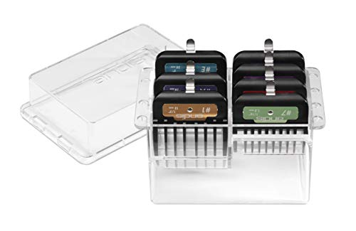 Andis 7Piece Premium Clip Animal Comb Set for #10 Blade, Multi Colored, 33655