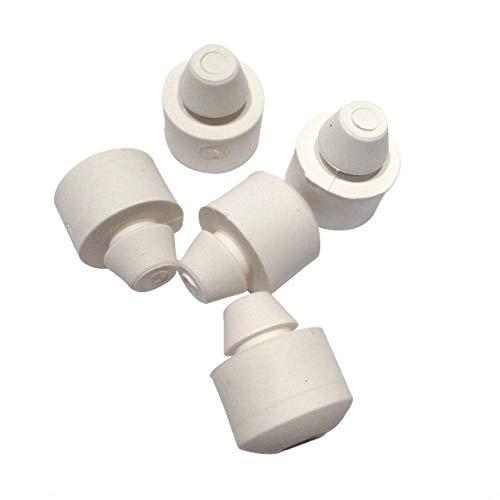 Pies de goma para batidora de soporte, 5 unidades, 8211628. Compatible con algunos mezcladores de soporte