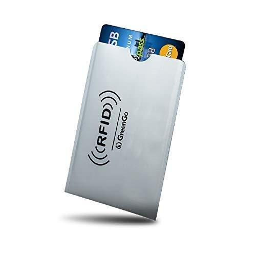 20 RFID carta di credito SICURO CHIAVE AUTO BLOCCANTE Maniche titolare Protettore Caso Shield