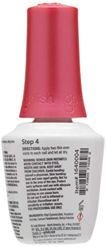 Harmony Gelish, Esmalte de gel de uñas (Top Coat) - 15 ml.