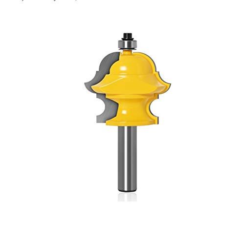 Fresa 1 unid 1/2 Shank 12mm Shank MultiForm Molding Molding Router Bit Puerta Cuchillo Cortador de carpintería (Cutting Edge Length : 12.7mm shank)