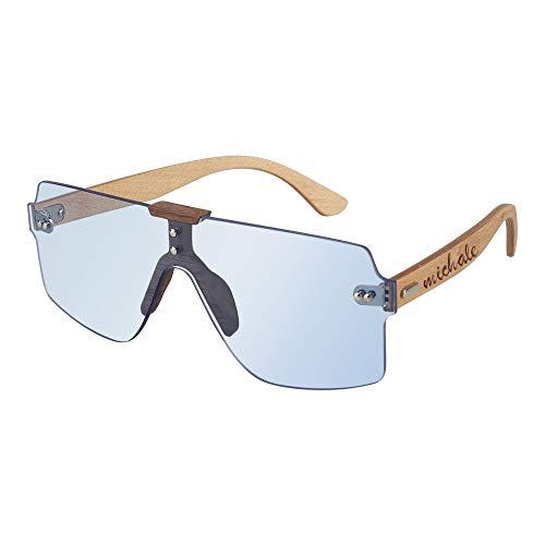 Souljewelry Gafas de Sol Personalizadas para Hombres Mujeres Gafas de Sol polarizadas de Madera con Nombre Personalizado con Caja Bloqueo UV 100% Regalo Personalizado para Bodas Cumpleaños Empleados