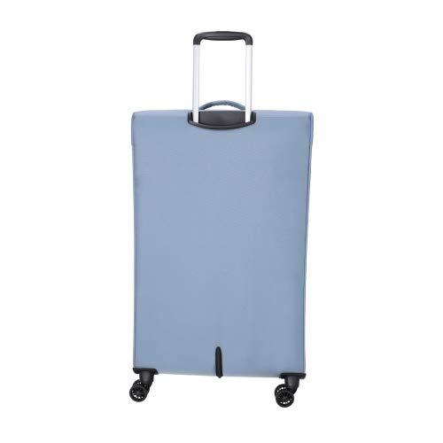 American Tourister Summerfunk Maleta con 4 Ruedas Azul-Gris 79 cm