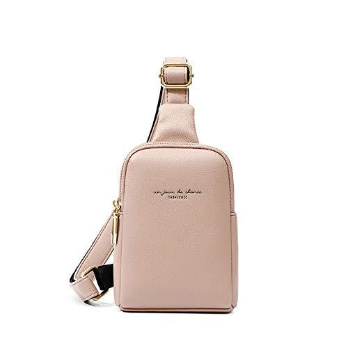 ZHENBK Bolso Ch Pack para mujer, bolso con cinturón de plátano Hip Hop, Mini bolsos bandolera, bolsos de cintura de cuero Pu para mujer, monedero, bolsillo
