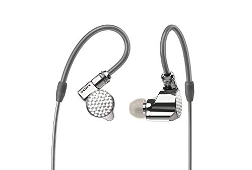 Sony IER-Z1R High Resolution In-Ohr Kopfhörer (High-End, Triple-Treibereinheit, OFC (Oxygen Free Copper) Kabel) silber