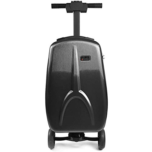 Buy KASIQIWA Electric Scooter Suitcase,Intelligent Folding Suitcase Password Lever Boarding The Chas...