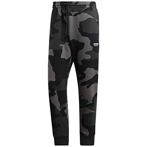 Adidas Vocal Camo - Pantalones de chándal para hombre -  Gris -  Large