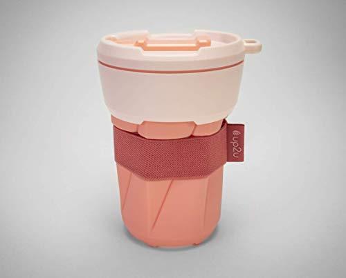 MuC My useful Cup®, Faltbarer Mehrwegbecher, 350 ml, Coffee-to-go, Made in Germany