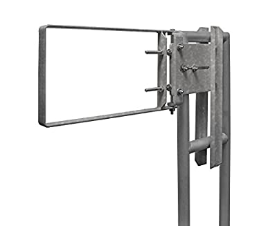 Fabenco A71-36 A-Series The Original Self-Closing Safety Gate, 37 to 39.5-Inch x 12-Inch, Galvanized A36 Carbon Steel