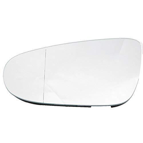 Outbit Außenspiegel - Linke Seitentür Außenspiegelglas mit Heizfunktion für Golf 6 09-12