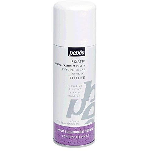 Pébéo–Fixativ Pastellkreiden, Stifte und Zeichenkohle Spray, 400ml