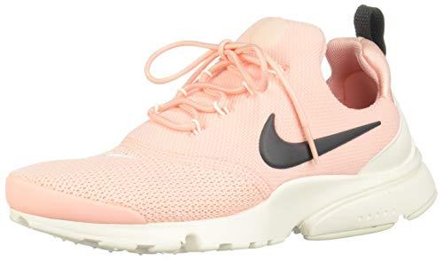 Nike Damen Presto Fly Laufschuhe, Mehrfarbig (Storm Pink/Anthracite-Summit White 607), 37.5 EU