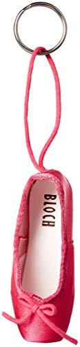 Bloch Damen Mini Pointe Shoe Keyring Schlüsselanhänger, hot pink, Einheitsgröße