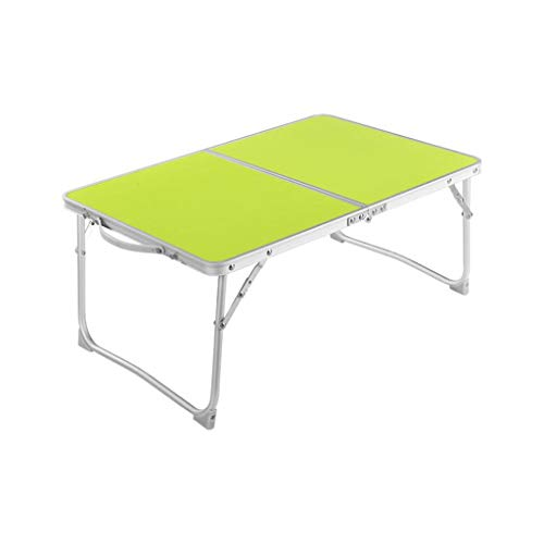 ZPWSNH Laptop-Bett, Tisch, Schreibtisch Porta Bett, Tisch, Schreibtisch tragbare Falten Frühstück Sofa mit Griff Aluminiumlegierung Klappbarer Kleiner Tisch