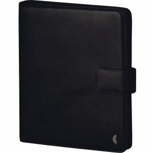 Chronoplan Timer-Ringbuch Standard A5 business edition Leder schwarz
