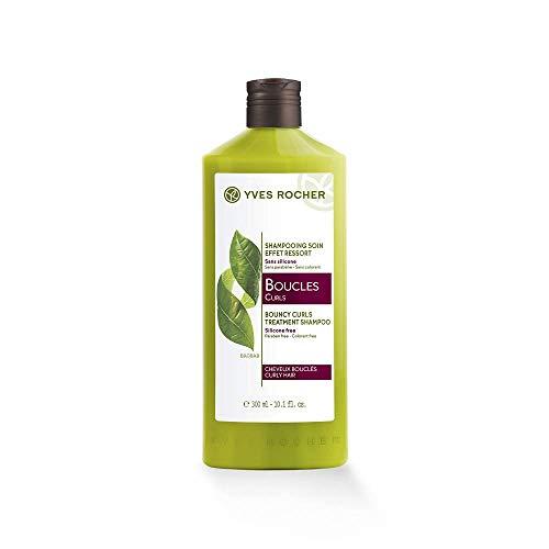 Yves Rocher Curls Bouncy Curls Treatment Shampoo for Curly Hair, 300ml
