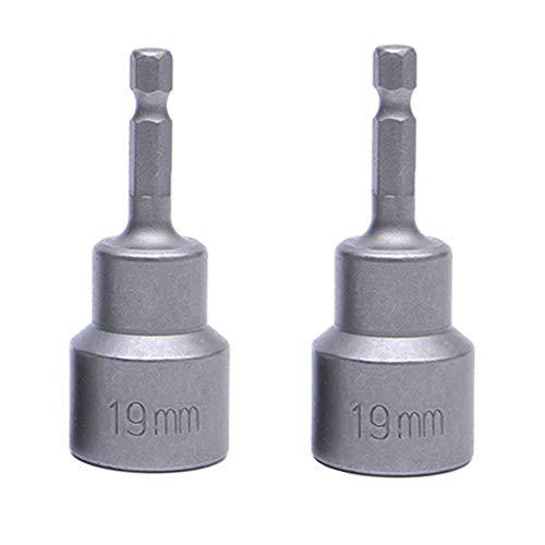 2 Pcs Quick Connect Power RV Leveling Scissor Jack Socket Drill Adapter...