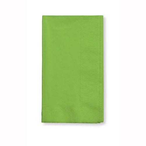 Creative Converting Touch of Color 2-Ply 50 Count Paper Dinner Napkins, Fresh Lime