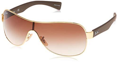 Ray-ban Mod. 3471 - Gafas de sol, unisex, color rojo (dorado), talla Talla única