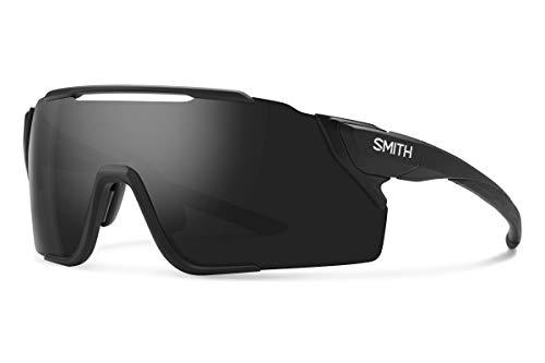 Attack MTB ChromaPop Sunglasses, Matte Black / ChromaPop Black / ChromaPop Low Light Amber, Smith Optics Attack MTB ChromaPop Sunglasses