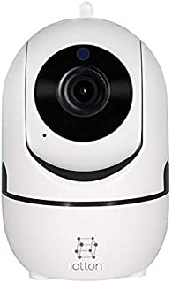 Wireless Security Camera 1080P, WiFi IP Camera Pan Tilt Zoom with Two-Way Audio and Night Vision for Baby/Elder/Pet/Nanny Home Surveillance Monitor Tracking