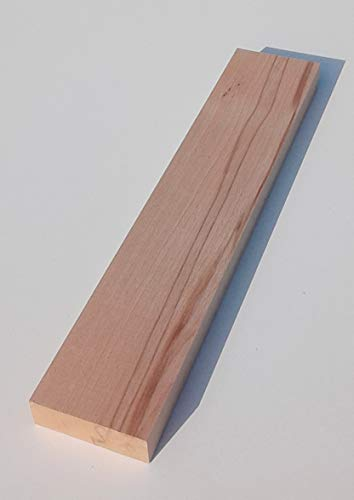 1 Stück 29mm starke Holzleisten Kanthölzer Bretter Kernbuche massiv. 70mm breit. Sondermaße… (29x70x950mm lang.)