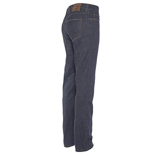ALBERTO Regular Slim Fit Jeans nachtblau