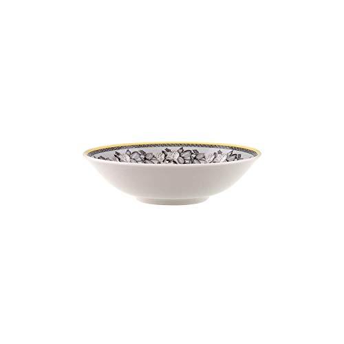 Villeroy & Boch Audun Ferme Dessertschälchen, Premium Porzellan, Weiß/Grau