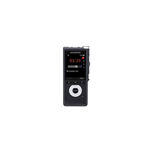 Olympus DS-2600 Digital Voice Recorder, Rechargeable Batteries, Case & Olympus Dictation Software, Black