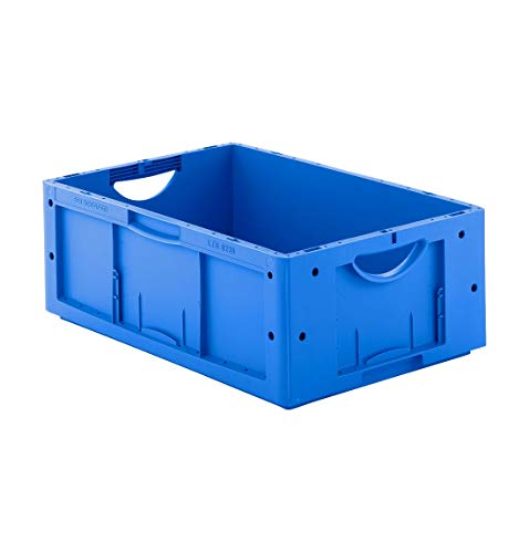 SSI Schäfer Euro Box Serie LTB 6220, ohne Deckel, 41 L, blau