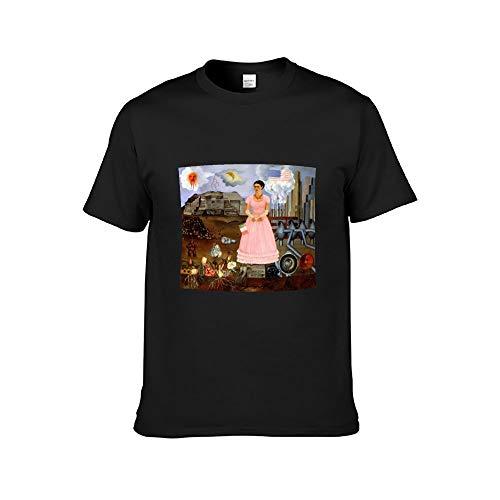 DAFUWENG T-shirt Frida originele stijlvolle kunst dames schilderij