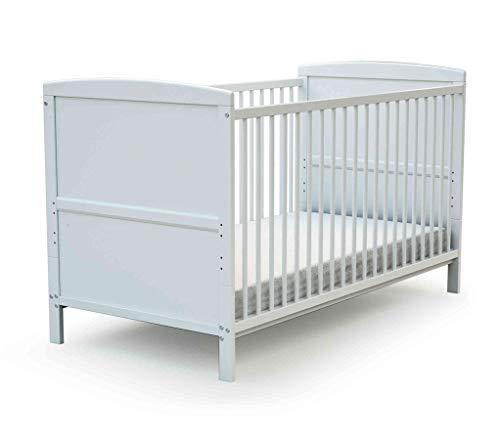 Lit bébé évolutif Baby Fox 60x120cm - Blanc