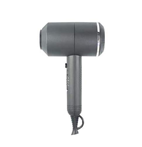 Sèche-Cheveux Sèche-Cheveux pour la Maison - Voyage 1500W Sèche-Cheveux à température constante et Silencieux à l'air Chaud et Froid, Rose, Noir, Gris, Rouge (Couleur : Gray)