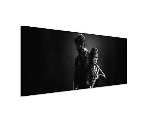 Paul Sinus Art Kunstdruck The_Last_of_Us_Remastered_2_150x50cm Panoramabild_Ausführung qualitativ hochwertiges Keilrahmenbild auf echter Leinwand als Wandbild auf Keilrahmen