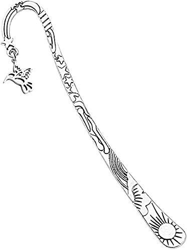 Colibrì Brcelet Memorial Gifts Colibrì Appear When Angels are Near Simpatia Regalo per Lei e Acciaio inossidabile, colore: Segnalibro Colibrì, cod. U
