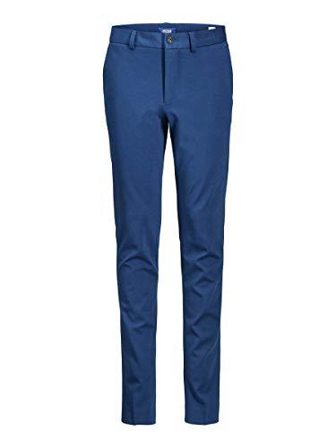 JACK & JONES Jungen JPRSTEVEN Trouser NOOS JR Anzughose, Estate Blue, (Herstellergröße: 134)