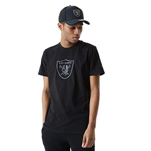 New Era NFL LAS VEGAS RAIDERS Reflective Print Tee T-Shirt